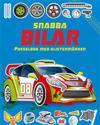 Snabba bilar: pysselbok med klistermärken