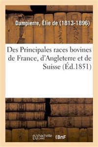 Des Principales races bovines de France, d'Angleterre et de Suisse