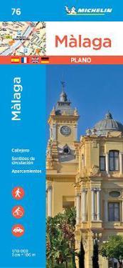 Malaga - Michelin City Plan 76