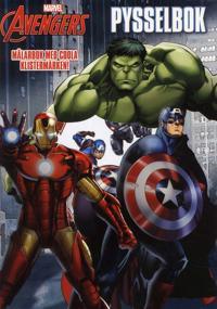 Marvel Avengers Die-Cut Pysselbok : målarbok med coola klistermärken