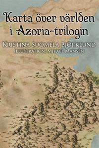 Karta över världen i Azoria-trilogin