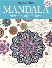 Prick till Prick Mandala meditativ mindfulness