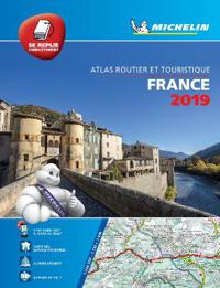 France 2019 - TouristMotoring Atlas Multi-flex