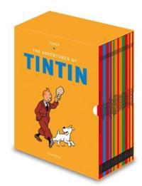 Tintin Paperback Boxed Set 23 titles -  - böcker (9781405294577)     Bokhandel