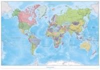 Karta Over Varldens Bergskedjor.Varlden Vaggkarta Laminerad 1 30 Milj I Tub 1 30milj Bocker