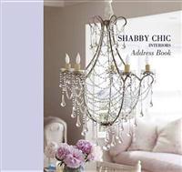 Shabby Chic Interiors Large Address Book