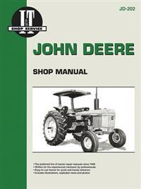 John Deere Shop Manual Jd-202 Models
