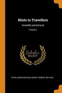 Hints to Travellers