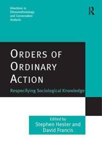 Orders of Ordinary Action