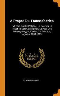 A Propos Du Transsaharien