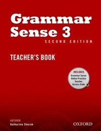 Grammar Sense: 3: Teacher's Book with Online Practice Access Code Card