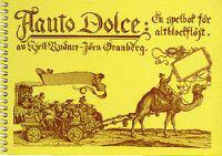 Flauto dolce : en spelbok för altblockflöjt