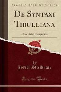 De Syntaxi Tibulliana