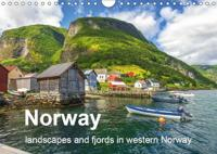 Norway - landscapes and fjords in western Norway (Wall Calendar 2019 DIN A4 Landscape)