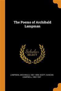 Poems of Archibald Lampman