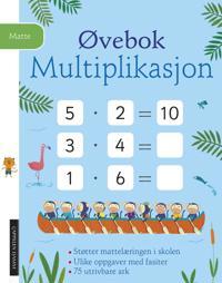 Øvebok. Multiplikasjon - Simon Tudhope | Ridgeroadrun.org