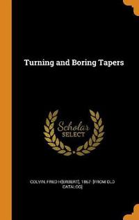Turning and Boring Tapers