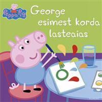 Peppa the pig. george esimest korda lasteaias