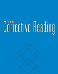 Corrective Reading Comprehension Level A, Teacher Materials