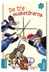 De tre musketörerna (Bok+CD)