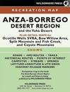 MAP Anza-Borrego Desert Region