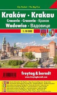 Krakau - Wadowice 1 : 10 000. City Pocket + The Big Five