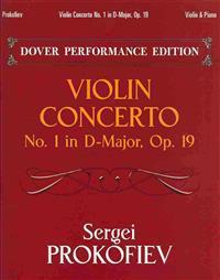Violin Concerto No. 1 in D-Major, Op. 19: Dover Performance Edition