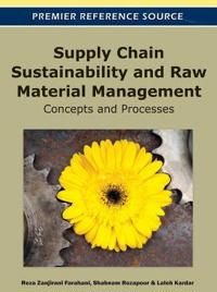 Supply Chain Sustainability and Raw Material Management