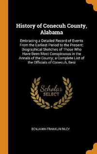 History of Conecuh County, Alabama