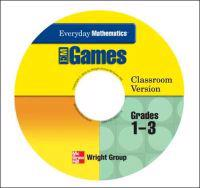 Everyday Mathematics, Grades 1-3, Early Childhood CD Class Games Package
