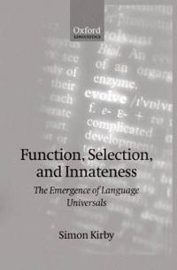 Function, Selection, and Innateness
