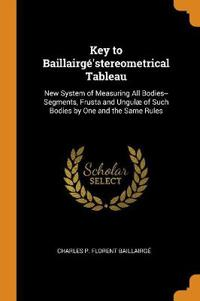 KEY TO BAILLAIRG 'STEREOMETRICAL TABLEAU