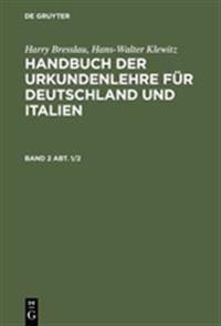 Harry Bresslau; Hans-walter Klewitz
