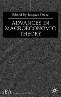 Advances in Macroeconomic Theory