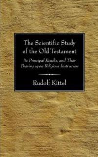 Scientific Study of the Old Testament