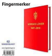 Norges Lover 2018. Fingermerker