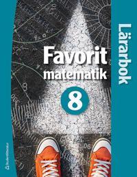 Favorit matematik 8 - Lärarhandledning (Bok + digital produkt)