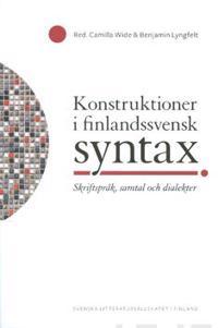 Konstruktioner i finlandssvensk syntax