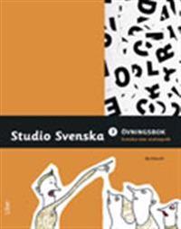 Studio Svenska 3 övningsbok svenska som andraspråk