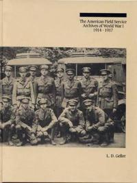 American Field Service Archives of Wwi