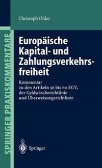 Europ�ische Kapital- Und Zahlungsverkehrsfreiheit