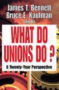 What Do Unions Do?