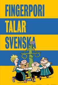 Fingerpori talar svenska