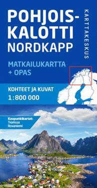 Pohjoiskalotti Matkailukartta Opas 1 800 000 Kirjat Kartta