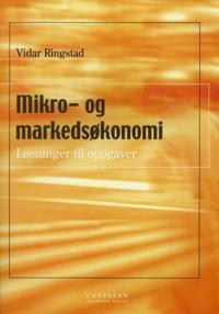 Mikro- og markedsøkonomi - Vidar Ringstad   Inprintwriters.org