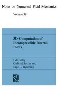 3D-Computation of Incompressible Internal Flows