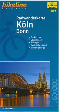 Bikeline Radwanderkarte Köln / Bonn 1 : 60 000