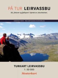 På tur Leirvassbu; turkart Leirvassbu