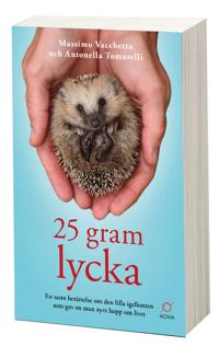 25 gram lycka: En sann berättelse om den lilla igelkotten som gav en man - Massimo Vacchetta, Antonella Tomaselli pdf epub