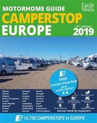 Motorhome guide Camperstop Europe 27 countr. 2019 GPS